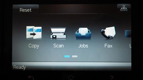 ฟังก์ชั่นการทำงานแบบต่างๆ ของ HP Color LaserJet Pro MFP M477fdw