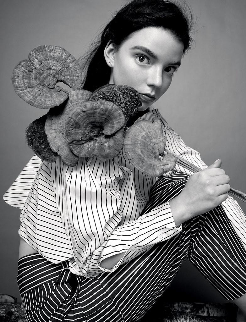 Аня Тейлор-Джой — Фотосессия для «Tatler» 2016 – 4