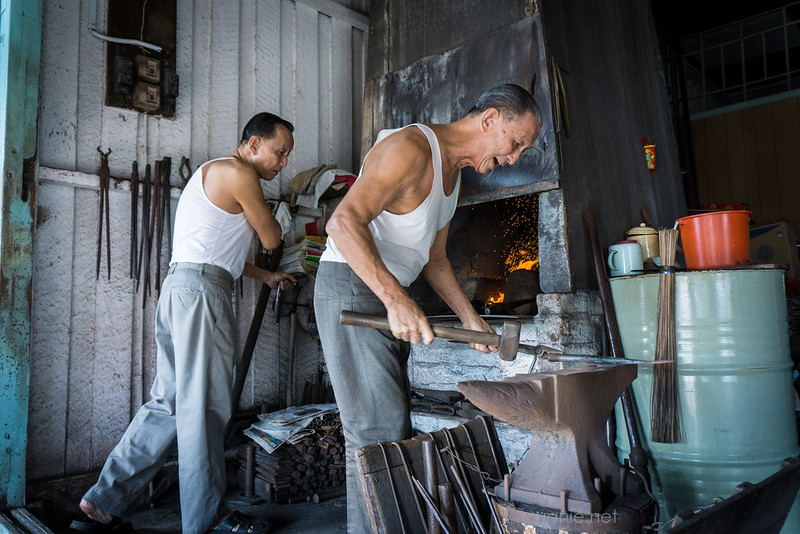 Blacksmith Sri Gading - brothers