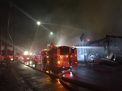 Major Emergency Commercial Fire in Boyle Heights