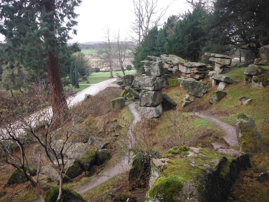 Chatsworth House Rock Garden 4