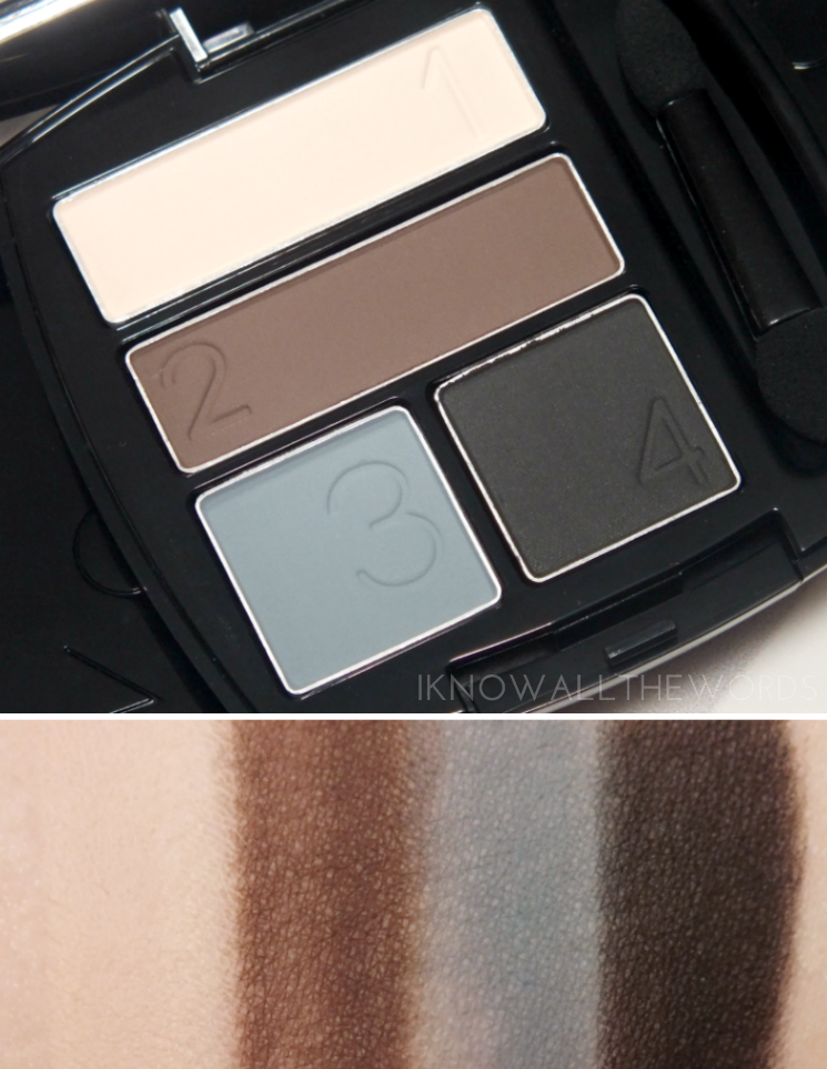 Avon Matte Eyeshadow Quads Smoke & Fog Quad
