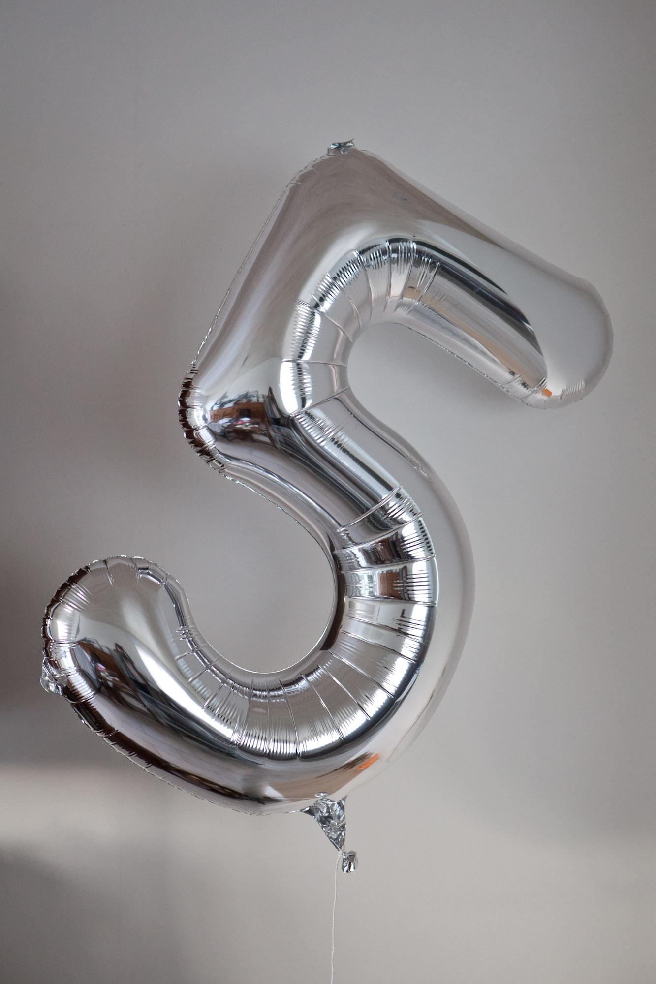 vijf jaar!