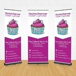 800mm x 2000mm Roll Up Banner #Marketing #Banner #Design #Print #Event #Cupcakes #Cupkates