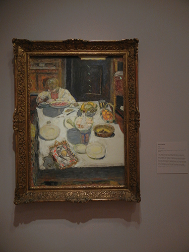 Pierre Bonnard, Legion of Honor, SF - The Table _ 1855