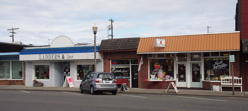 East Stanwood: Stanwood was originally two towns, East Stanwood and Stanwood, with a feud between the Scandinavian populations keeping them apart.  The two towns merged in 1960.