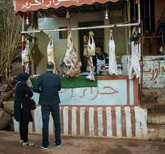 Street Butcher, Marrakech, Morocco