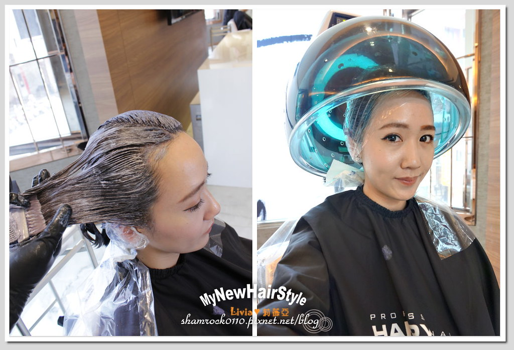 HappyHairTon短髮+墨綠色染髮 - 16