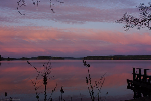 sky lake sunrise finland landscape fi kuopio northernsavonia