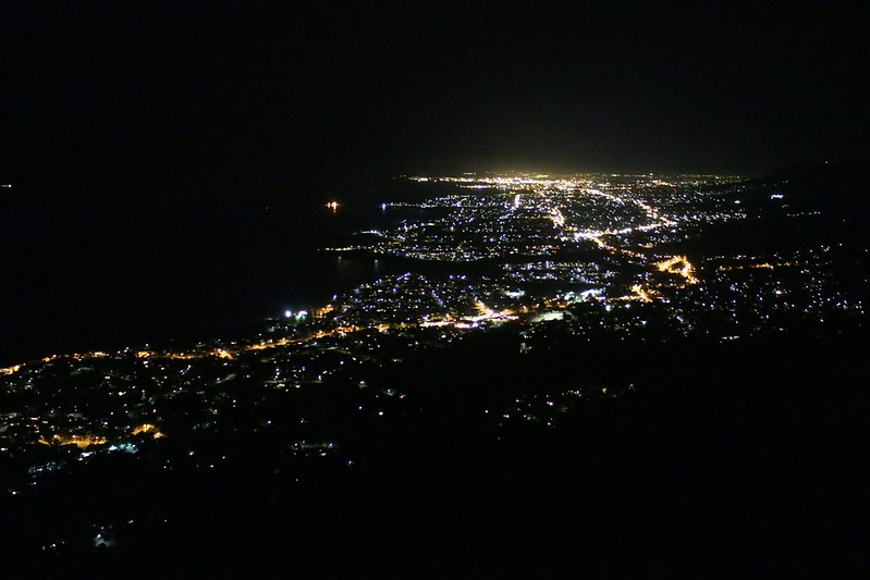 Sublime point Walk at night