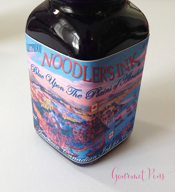 Ink Shot Review Noodler's Blue Upon The Plains of Abraham @CarolLuxury (1)