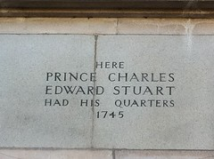Photo of Charles Edward Stuart stone plaque