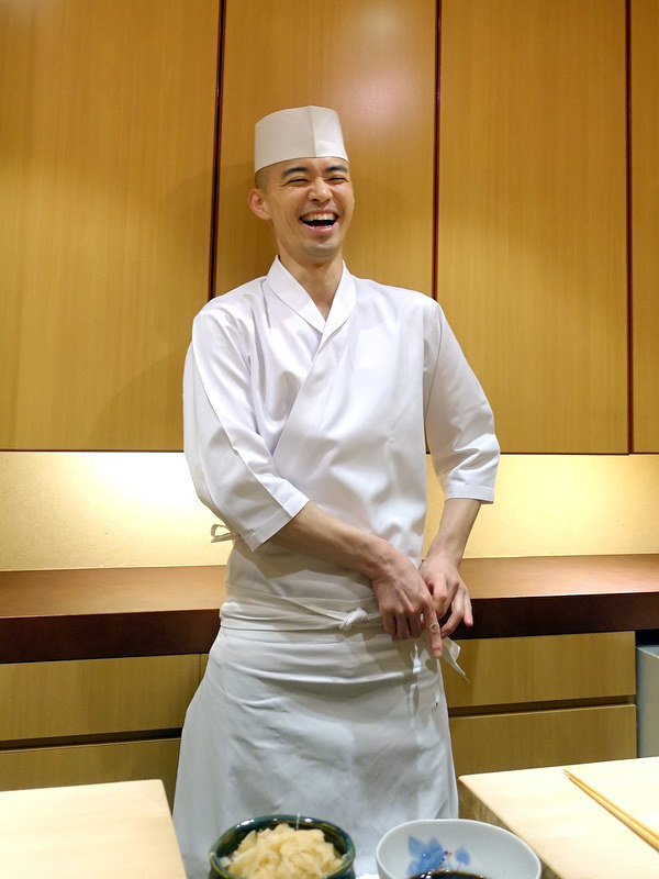 Sushi Iwa Ginza- Chef Shigeyuki Tsunoda