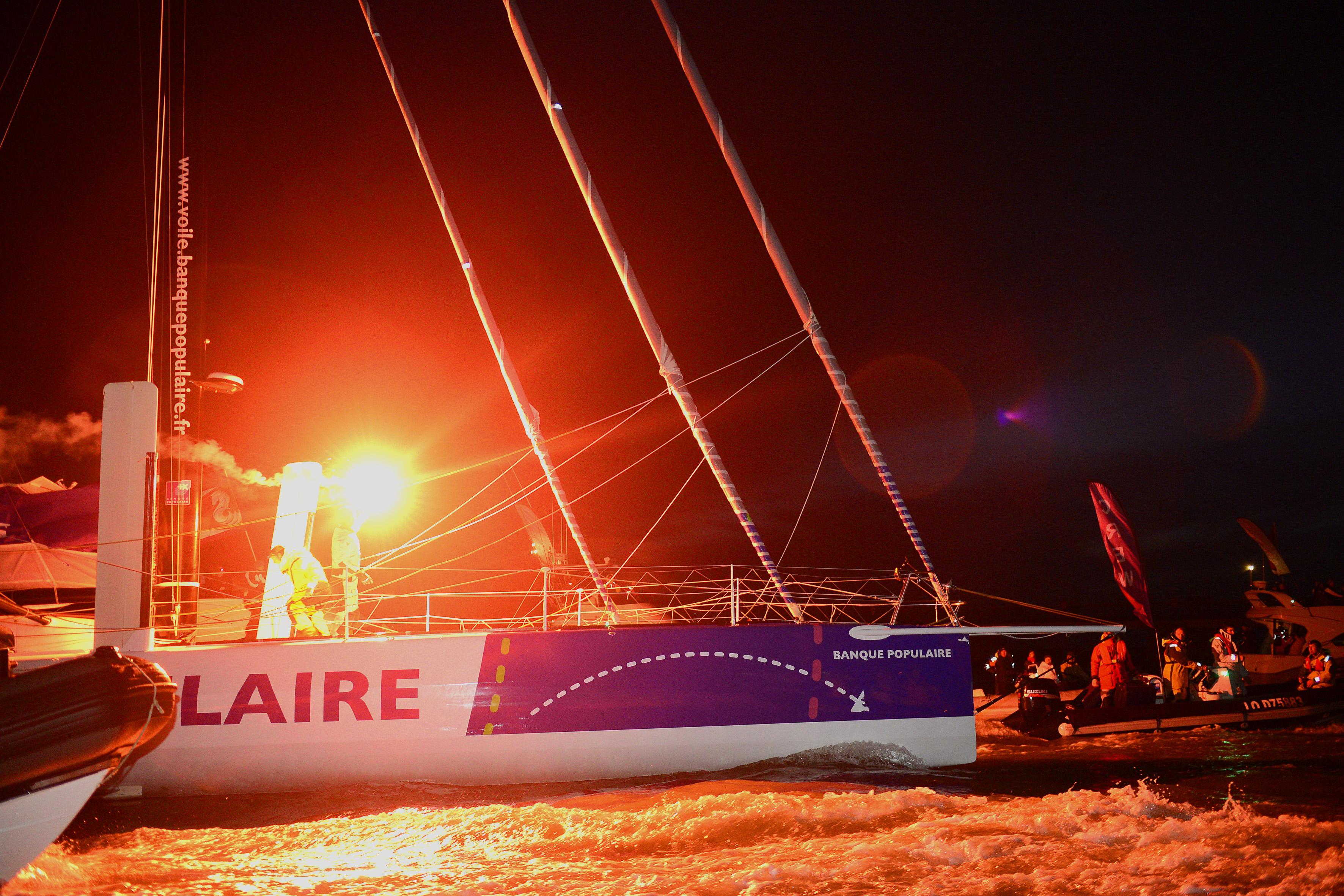 Vendée Globe 2012 - Arrivée Banque Populaire / BPCE
