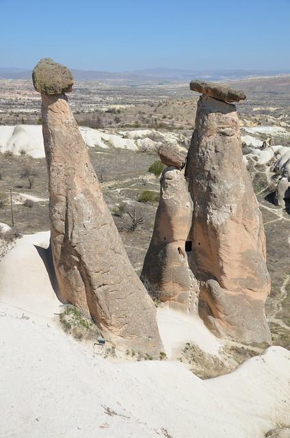 Cappadocian landscape, Turkey