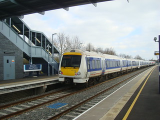 Chiltern Railways service at Oxford Parkway station