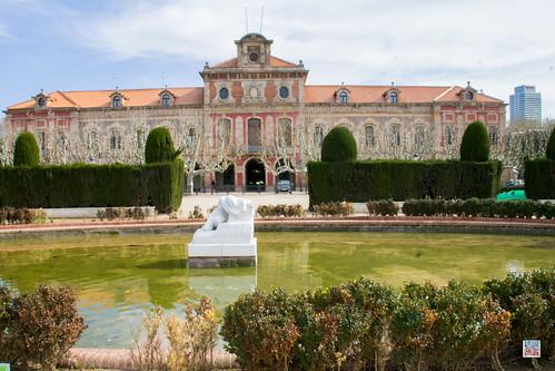 Parliament of Catalonia Parc de la Ciutadella, Passeig de Picasso Barcelone Catalonia Spain