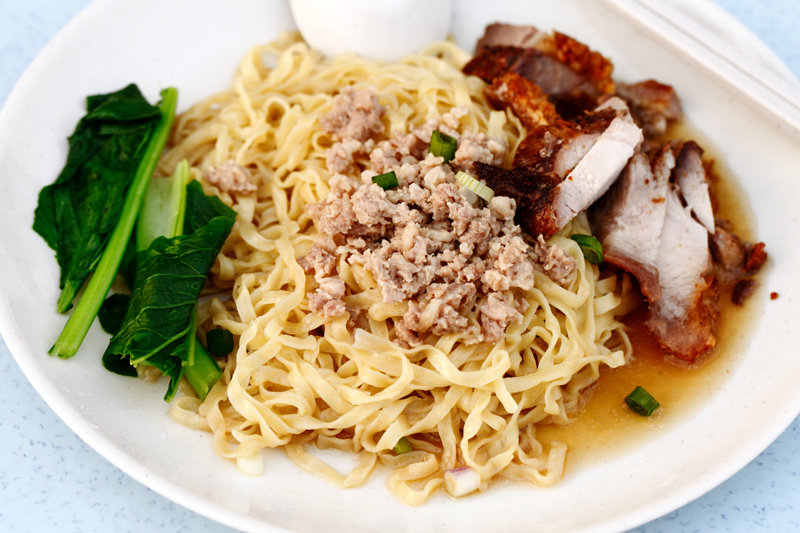 Roast Pork Hakka Mee