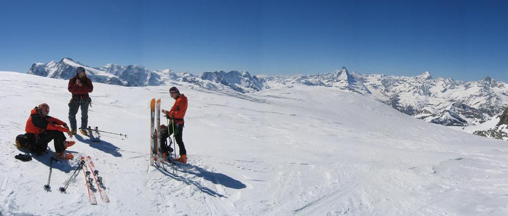 Strahlhorn Walliser Alpen / Alpes valaisannes Schweiz foto 04
