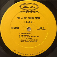 SLY AND THE FAMILY STONE:STAND!(LABEL SIDE-B)
