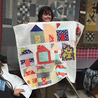 show and tell: 2015 bee quilt finished