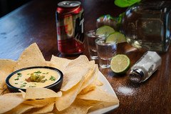 Chips & Queso, Tequila, Tecate at Citizen Bar…