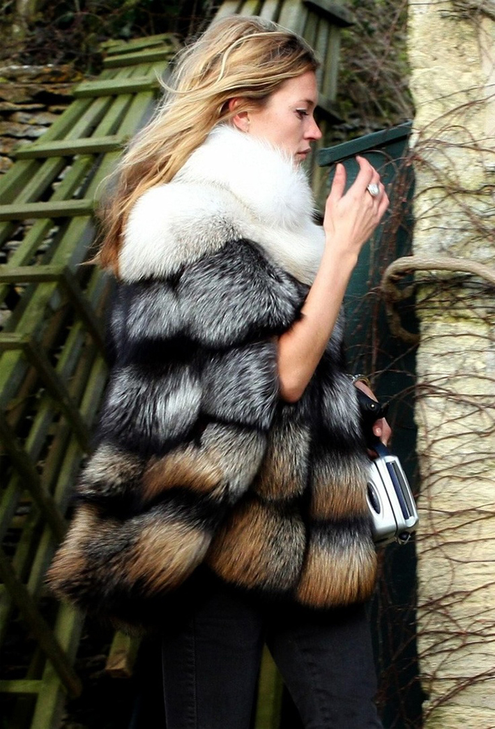 Faux Fur Coats Outfits style inspiration streetstyle1