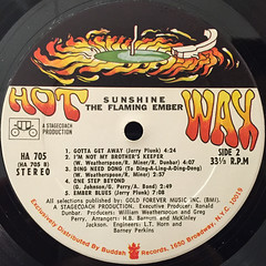 FLAMING EMBER:SUNSHINE(LABEL SIDE-A)