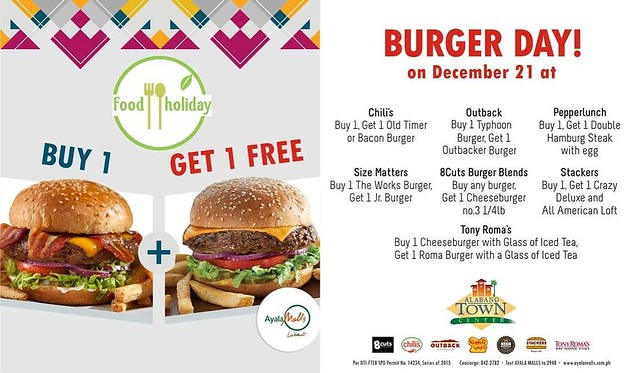 Happiness in a bun from Alabang Town Center's Burger Day | iMunch