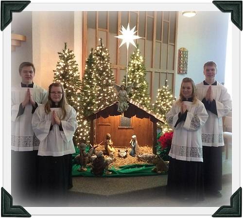 Kids Serving at Christmas 2015