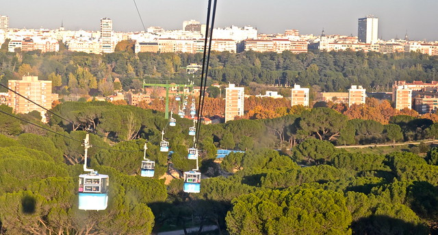 Teleferico de Madrid - Cable cars
