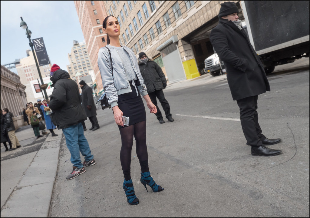On West 33rd St  NYFW  2-2016