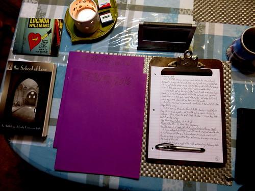 February 2016 Diary