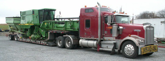 Farm Equipment Trucking