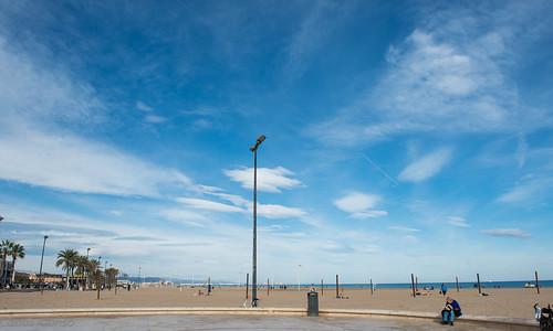 Playa del Cabañal, Valencia