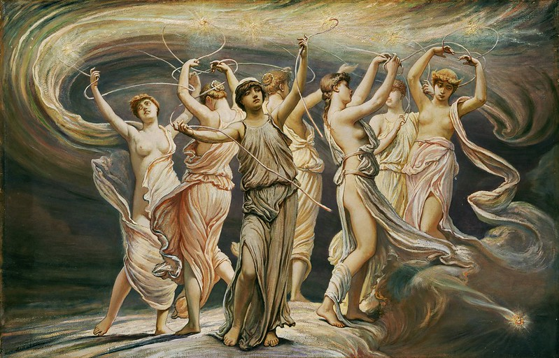 Elihu Vedder - The Pleiades (1885)