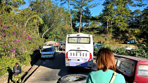 mountain bus lines view ride top philippines scene corporation sagada load province jeepney kms coda bontoc topload