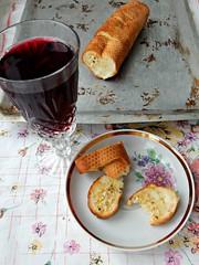garlicbread-withjuice