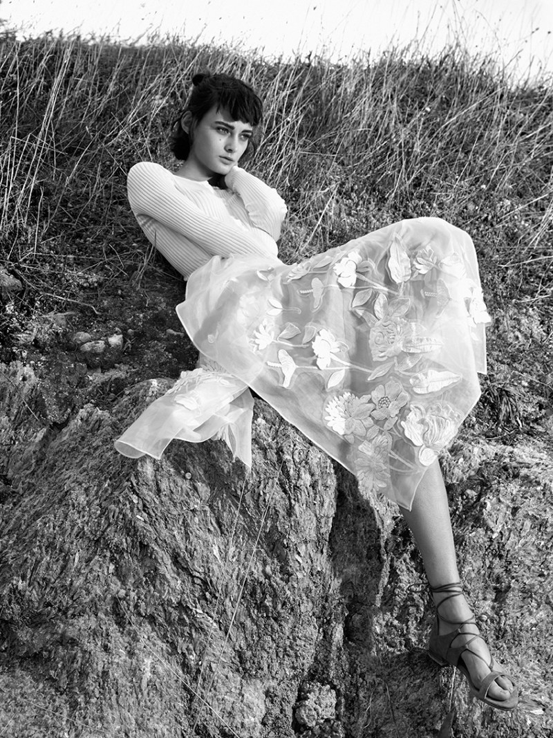 Sibui Nazarenko by Thomas Krappitz for Elle Germany February 2016