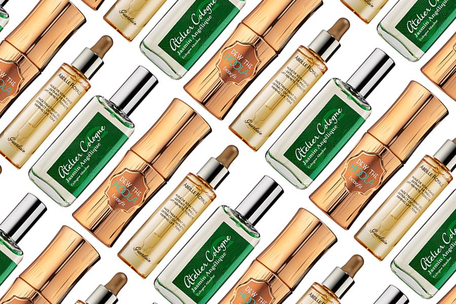 Guerlain Abeille Royale Face Treatment Oil, Benefit Cosmetics Dew the Hoola Soft Matte Liquid Bronzer