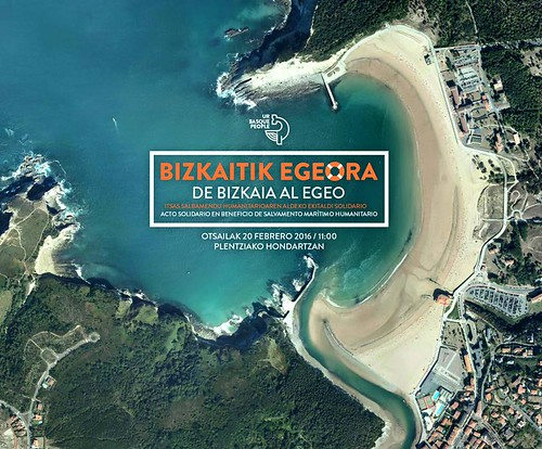 UR BASQUE PEOPLE. cartel anunciador