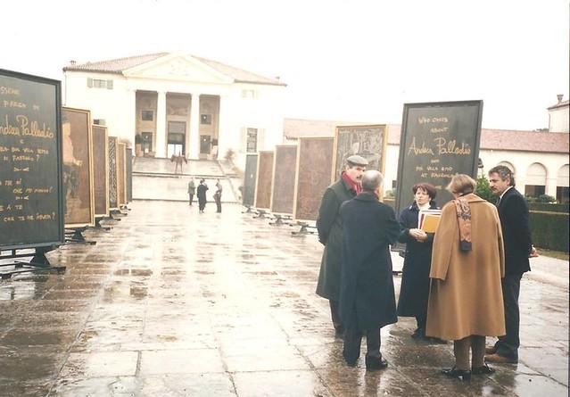 1 _ Gennaio 1996_ Sopralluogo delegazione ICCROM guidata dal prof DEREK LINSTRUM per valutazione candidatura delle ville di Palladio nella World Heritage List dell'UNESCO