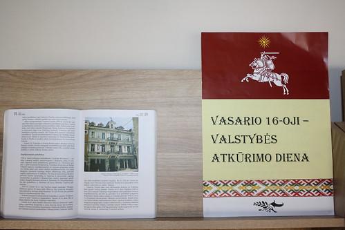 Vasario 16 bibliotekoje