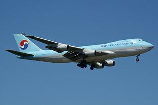 Korean Air Cargo Boeing 747-4B5F/SCD HL7448