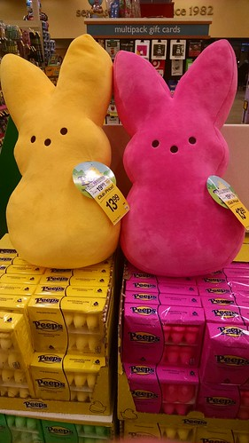 Stuffed Peeps Bunnies