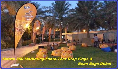 Tear Drop Flags
