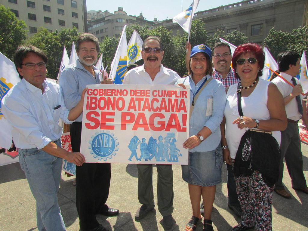 Gremios del FTH apoyan y solidarizan con los y las compañeras de la Región de Atacama. FUERZA!!! - 15 Marzo 2016