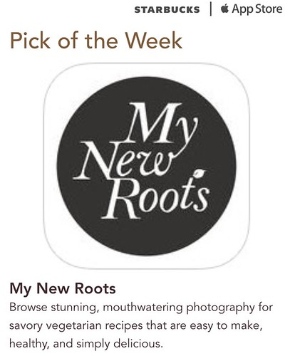 Starbucks iTunes Pick of the Week - My New Roots