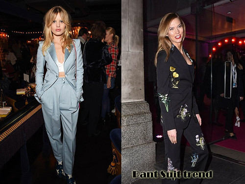 Pant suits Trend: Suit Up