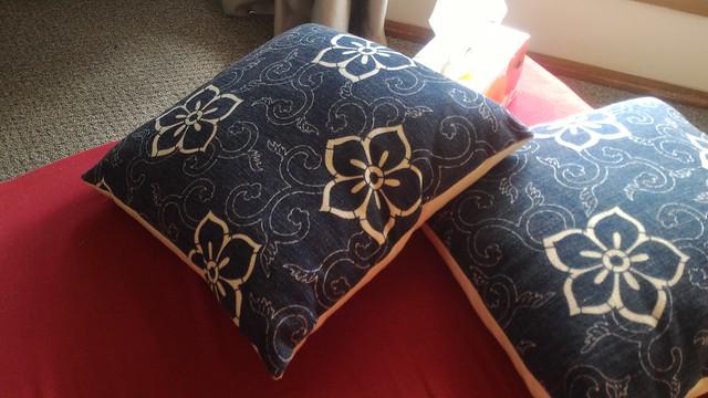 japaneseish cushions